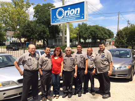 About Orion Auto Service Orion Auto Service In Houston Tx