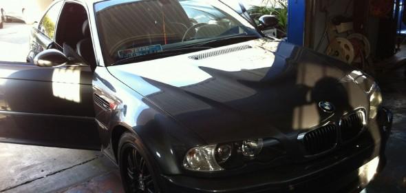 Repairing Broken Sunroof Sunshade on BMW E46