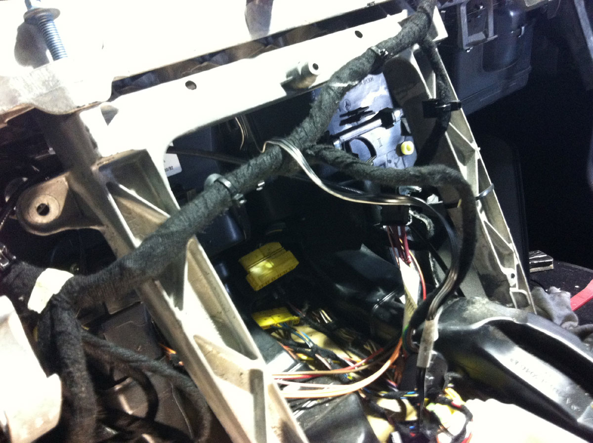 Mb 211 Dash Stage7 Orion Auto Service In Houston Tx Repair Wiring Harness